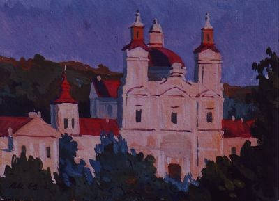 Sold Works: Vladimir Masik - Kashinsk Architecture