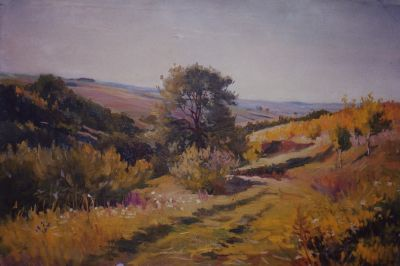 Sold Works: Vladimir Masik - Country Lane