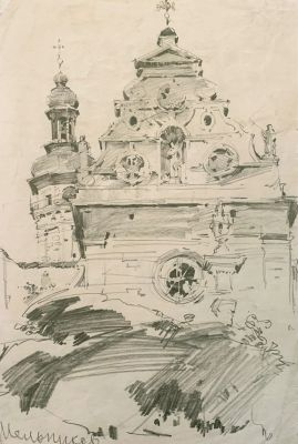Works on Paper - Church
