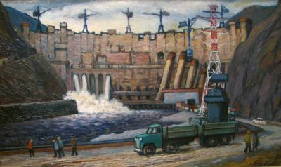 Konstantin Mikhailov - Power Station in Tjumen