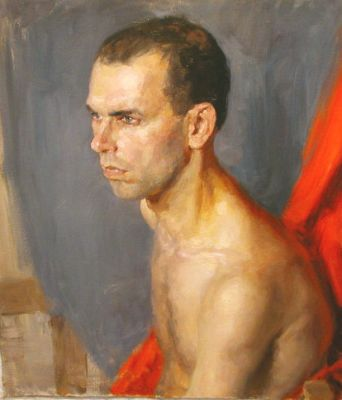 Special Values - Portrait of a Shirtless Man