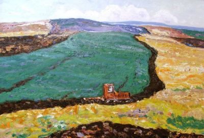 Sold Works: Gavriil Malysh - Autumn Field