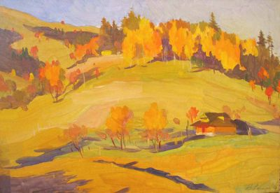 Vladimir Masik - Farm House Autumn
