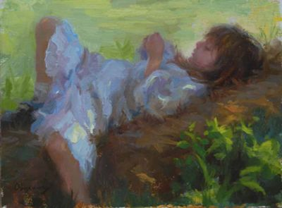 Select Sold Works: Marci Oleszkiewicz - A Quiet Place