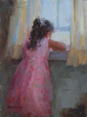 Select Sold Works: Marci Oleszkiewicz - Day Dreamer