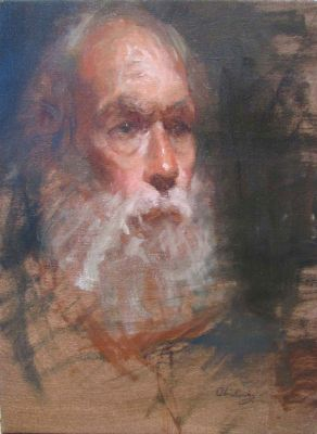 Select Sold Works: Marci Oleszkiewicz - Old Man