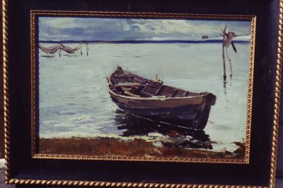 Sold Works: Aleksander Pushnin - The Boat