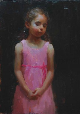 Select Sold Works: Marci Oleszkiewicz - Pretty in Pink