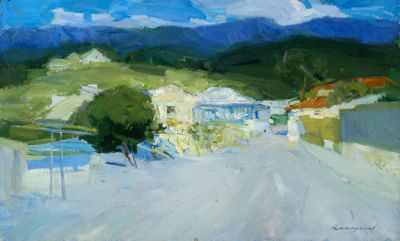 Renat Ramazanov - Street in the Mountains