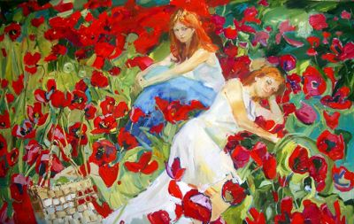 Renat Ramazanov - Among the Flowers