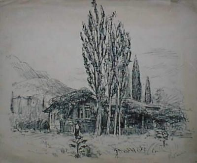 Works on Paper - Alupka, Crimea