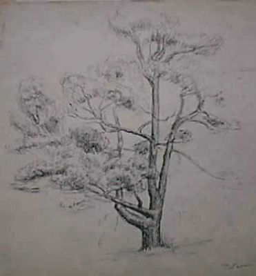 Sold Works: Erikh Rebane - Tree