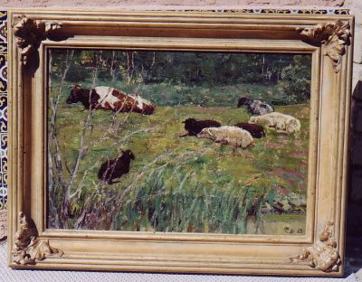 Sold Works: Vladimir Skryabin - Sheep