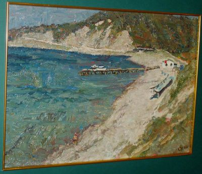 Sold Works: Vladimir Skryabin - On the Black Sea
