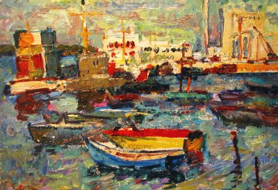 Sold Works: Vladimir Skryabin - In the Port