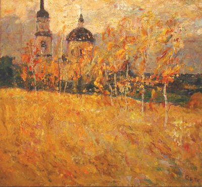 Sold Works: Vladimir Skryabin - SKR 28 GoldenAutumn