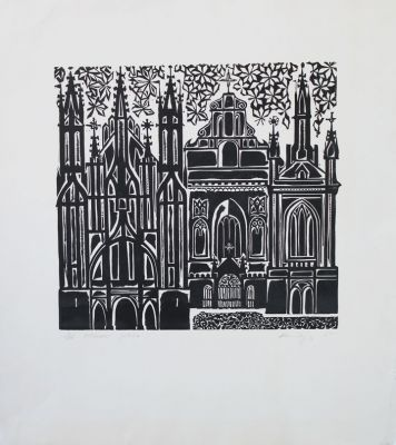 Works on Paper - SMIL 01 Gothic Vilnius