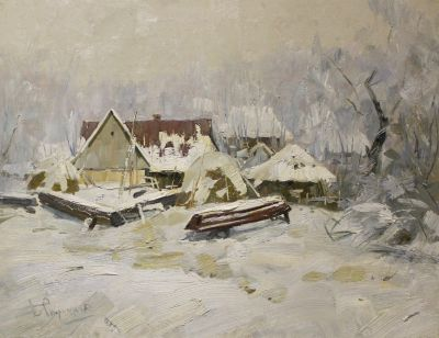 Boris Spornikov - Winter in Sedneva, 1982