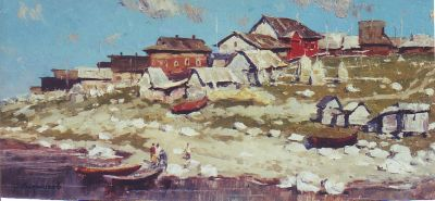 Sold Works: Boris Spornikov - Polar Sttlement, Yakutia