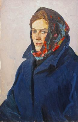 Viktor Shatalin - Woman in Blue
