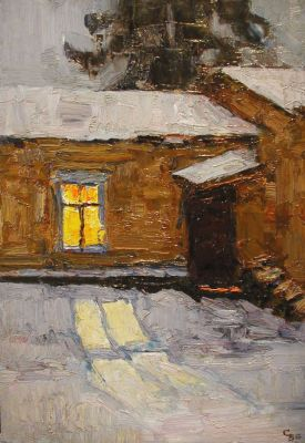 Sold Works: Vladimir Skryabin - Window