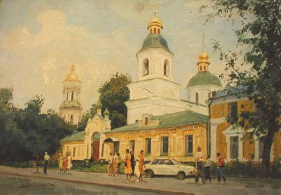 Boris Spornikov - Church of the Resurrection, 1986