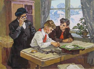 Lev Vitkovsky - Repairing the Clock