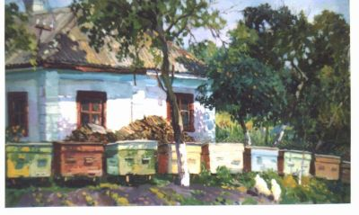 Select Sold Works: Ivan Vityuk - Hives in Front of the House