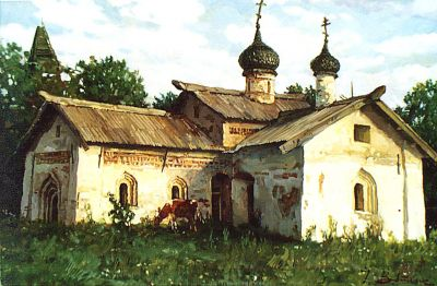 Select Sold Works: Ivan Vityuk - Ancient Church