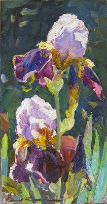 Select Sold Works: Ivan Vityuk - Irises