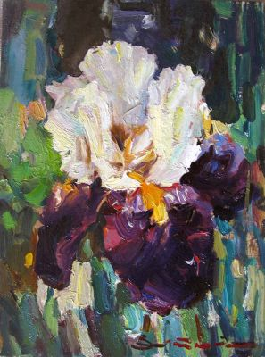 Select Sold Works: Ivan Vityuk - Handsome Iris