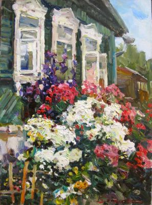 Select Sold Works: Ivan Vityuk - The Energy of Summer Blooming