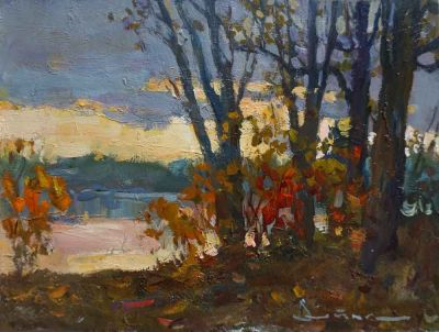 Select Sold Works: Ivan Vityuk - Autumn Study