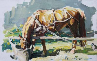 Select Sold Works: Ivan Vityuk - Hard Earned Oats