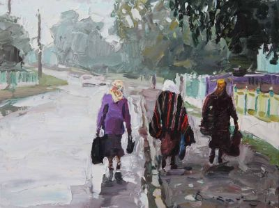 Select Sold Works: Ivan Vityuk - Pilgrimage