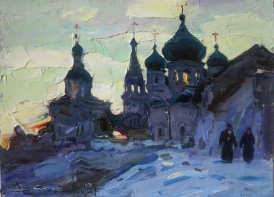 Select Sold Works: Ivan Vityuk - Evening, Bogoljubovo
