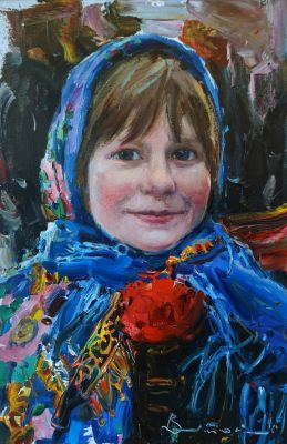 Select Sold Works: Ivan Vityuk - Mischievous Girl