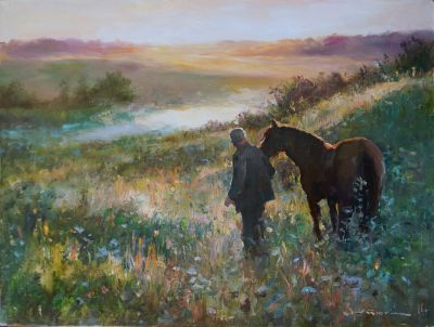 Select Sold Works: Ivan Vityuk - At Dawn