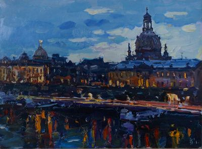 Ivan Vityuk - Evening in Dresden