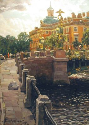 Select Sold Works: Ivan Vityuk - Inzhennernyi Lock