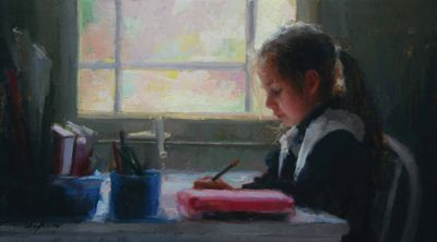 Select Sold Works: Marci Oleszkiewicz - Writing Desk