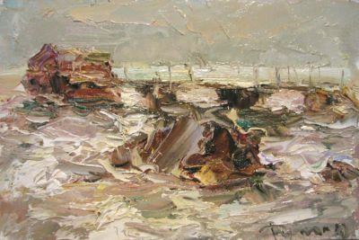 Select Sold Works: Tuman Zhumabaev - Windy