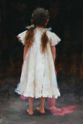 Select Sold Works: Marci Oleszkiewicz - Antique Dress