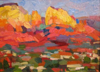  Select Sold Works: Larisa Aukon - Sedona