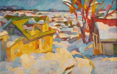  Select Sold Works: Larisa Aukon - Promise of Tomorrow