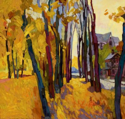  Select Sold Works: Larisa Aukon - Reminiscence