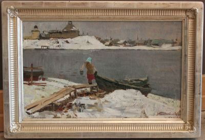 New Works - Winter Day at Ladoga