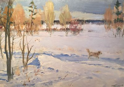 Nikolai Baskakov - Winter Walk