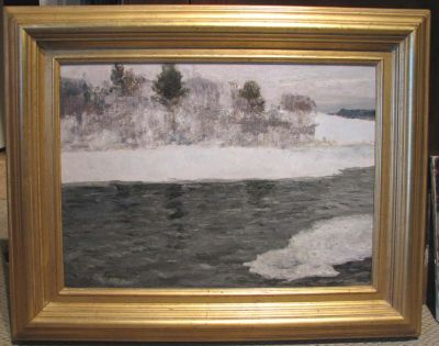 Sold Works: Aleksei Borodin - Little River