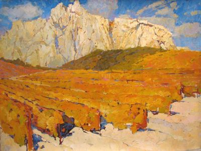 Select Sold Works: Aleksander Britsev - Vineyard